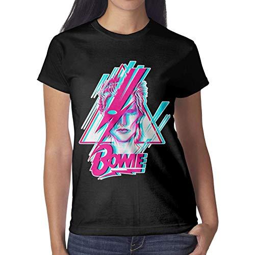 David Bowie Art T-shirt for Women, S to XXL