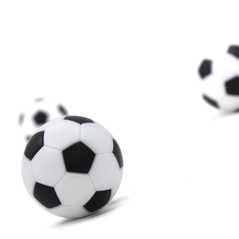 YeahiBaby Accessoire Officiel 32mm de Boule de Jeu de Table de Boules de Rechange de Baby-Foot du Tableau 8pcs