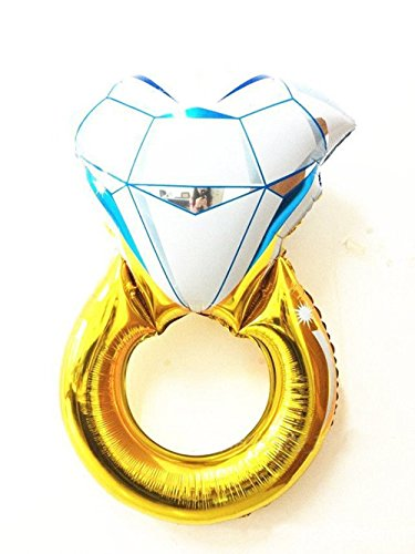 Diamond Engagement Bridal Wedding Balloon product image