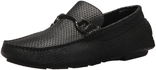 Bugatchi Men Treviso Driver Driving Style Loafer Nero