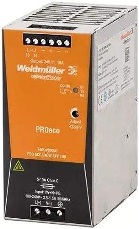 /Alimentation /Électrique Pro ECO 240/W 24/V 10/A WEIDMULLER 1469490000/