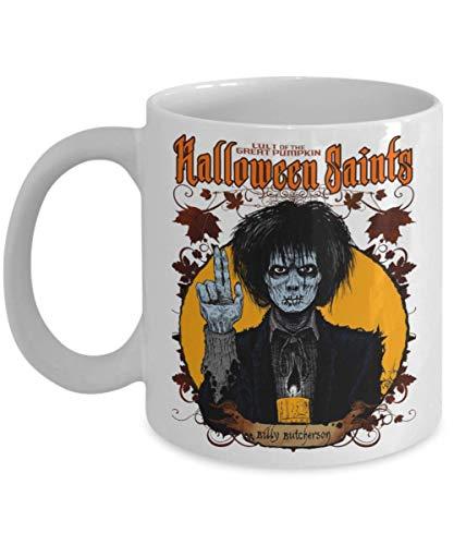 Halloween Saints Billy Butcherson Mug, halloween, hocus pocus, billy bones, billy butcherson, halloween saints, samhain, salem, spooky, creepy -