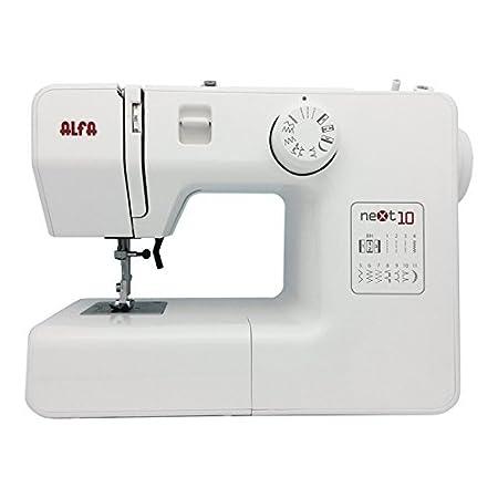 Alfa Next 10 Máquina de Coser, Blanco: Amazon.es: Hogar