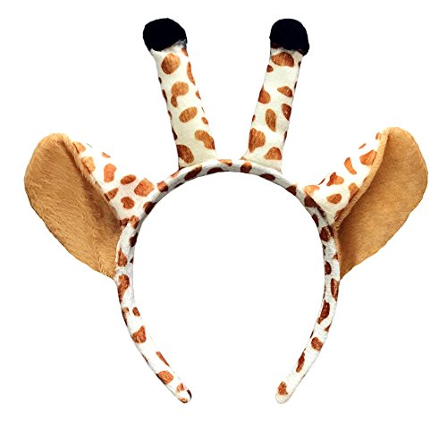 Crazy Night Cute Giraffe Ears Headband Christmas Antler -
