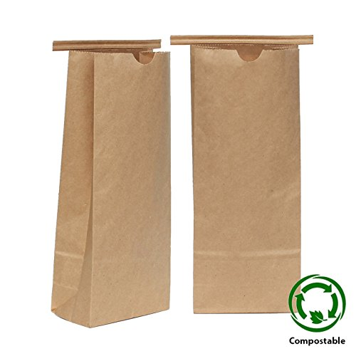 Eco Friendly Kraft Tin Tie Window Coffee Bags - 2