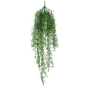 Ameesi 1Pc Artificial Flower Ivy Vine Foliage Wall Hanging Garland Plant Garden Decor 107