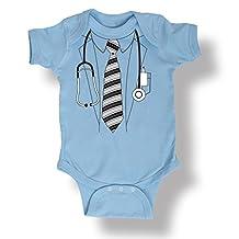 Doctor Labcoat Scrubs Uniform Costume Hospital Novelty Infant