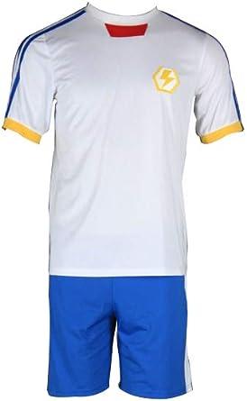 Mtxc hombre Inazuma Eleven cosplay japonés camiseta de fútbol 2 nd: Amazon.es: Ropa y accesorios
