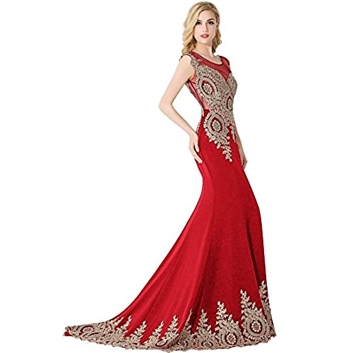 Red and Gold Dresses: Amazon.com