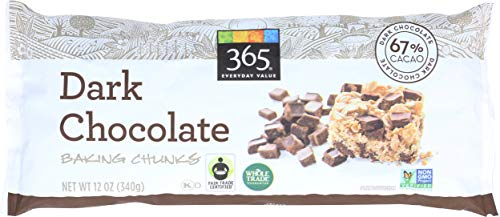 365 Everyday Value, Dark Chocolate Baking Chunks, 12 oz
