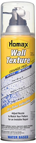 - HOMAX Industries 4096-06-06 Aerosol Wall Texture, Color Changing Orange Peel, 16 oz