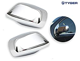 TYGER ABS Triple Chrome Plated A Pair Mirror Covers 05-12 Nissan Frontier/Pathfiner/Xterra