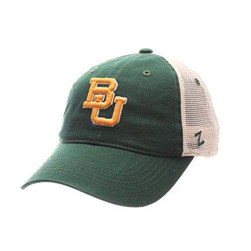 Zephyr NCAA Baylor Bears Adult Men University Relaxed Cap, Adjustable, Team (Baylor University Bears)