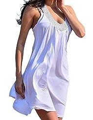 URqueen Women's Studded Summer Sun Dress Cover Up Beach Dress