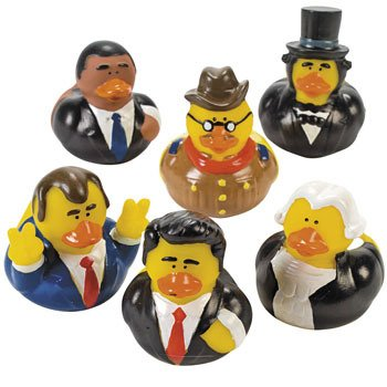us-president-rubber-ducks-12-pcs