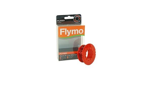 Flymo FLY031 5131060906 - Carrete con hilo para cortacésped Mini ...