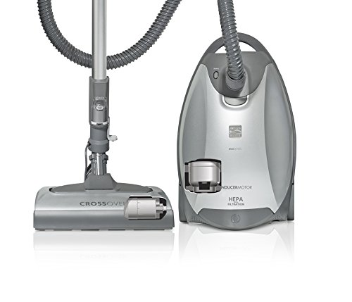 (Kenmore Elite 21814 Pet & Allergy Friendly CrossOver Canister Vacuum in Silver/Gray)