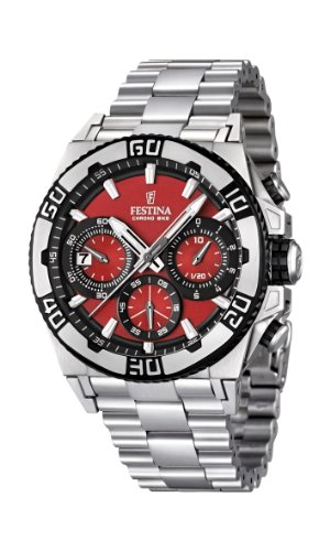 Men's Watch Festina Chrono Bike F16658/8 Tour de France 2 Years Warranty
