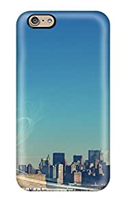 New York's Statue Of Liberty/ Fashionable Case For HTC One M7 Cover