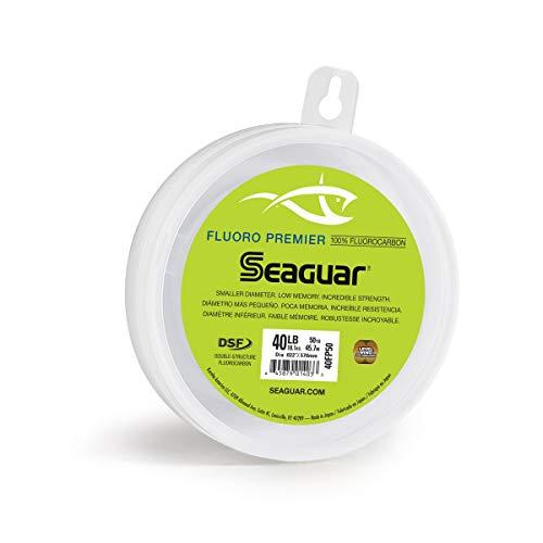 Seaguar Fluoro Premier 50-Yards Fluorocarbon Leader (40-Pounds)