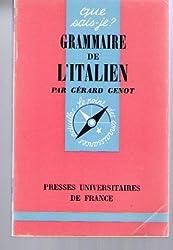 Grammaire de l'italien