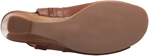 Tan Bella Parson Vita Sandal Leather Women's Wedge BBzqOw