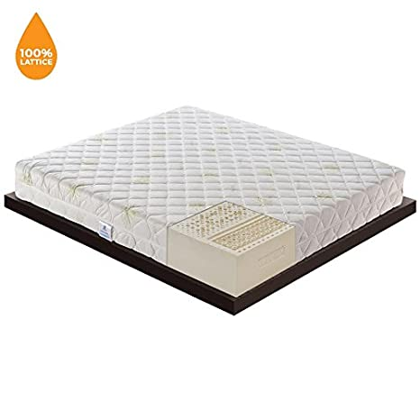 Offerta Prime Day- Materasso 100% Lattice con 7 Zone Differenziate ...