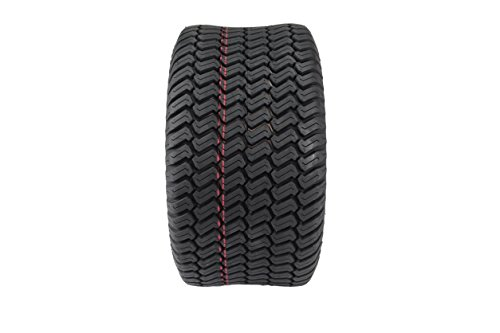 Antego Tire & Wheel Set of Two 20×10.00-10 4 Ply Turf Tires for Lawn & Garden Mower 20×10-10