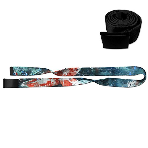 Koi Fish Unisex Casual Printing Belt Adjustable Military Style Web Belt With Metal Buckle Slider - 3D Graphic Print