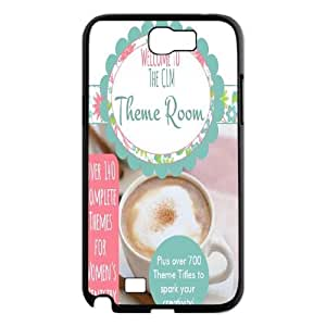 Qxhu Christian Theme Hard Plastic Back Protective case for Samsung Galaxy Note2 N7100