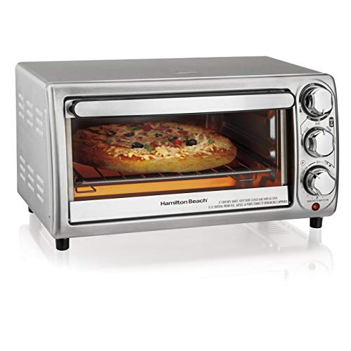 Hamilton Beach 31143 Toaster Oven, Silver (Certified Refurbished)