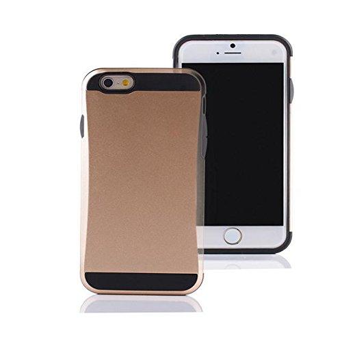 iPhone 6 Case,Lantier [de Anti Scratch] [de Heavy Duty] [de Pocket Card] double couche pare-chocs en caoutchouc hybride Cover Card Case de protection pour Apple iPhone 6 4.7 pouces et 4.7 pouces iPhon