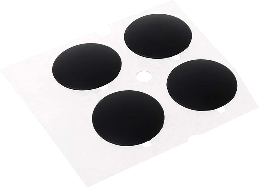luosh Laptop Rubber Bottom Case Cover Feet Kit Replacement Foot Pads for Notebook Tablet,4 Pieces