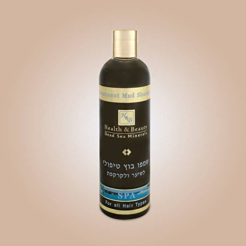 H&B Dead Sea Therapeutic Mud Shampoo for Hair and Scalp