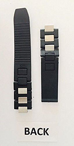 RUBBERSTEEL-WATCH-BAND-CLASP-FOR-CARTIER-MUST-21-CHRONOSCAPH-BLACK-1-AUTOSCA