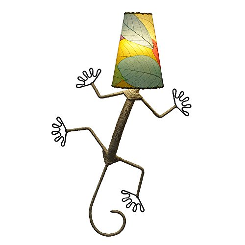Gecko Wall Lamp - Eangee Home Designs Wall Sconce Lamp Light Gecko - Color Multi
