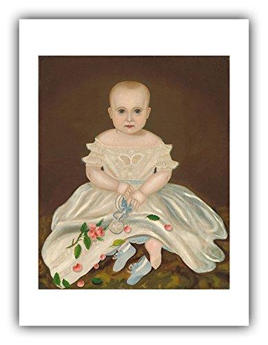 The Ibis Print Gallery - Folk Art : ''Innocence'' (c.1830) - Giclee Fine Art Print