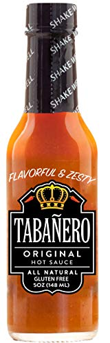 Tabañero Original Hot Sauce (5oz Bottle)