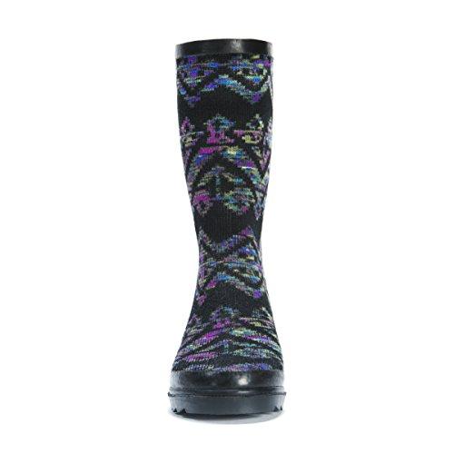 Women's MUK Anabelle Shoe Rain Black Rainboots LUKS 5ggwUxqz