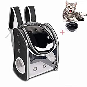 YINGJEE Pet Carrier Backpack Breathable for Small/Medium Dogs and Cats, Deluxe Pet Carrier Bag with Mesh Ventilation…