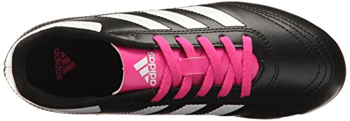 Pictures of adidas Kids' Goletto VI J Firm Ground Black/White/Shock Pink 2