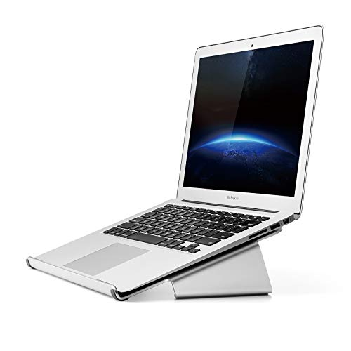UPERGO Laptop Stand, More Wider Base for 11~17 Inches Notebooks(AP-1V), Silver ?-