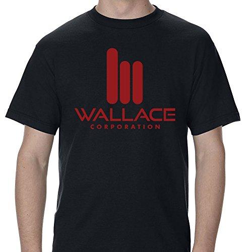 Future of Flight Wallace Corporation Logo Adult T-Shirt-XL-Black
