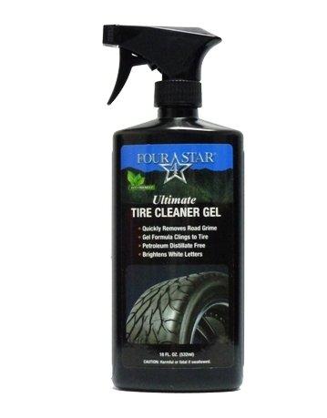 Four Star Ulitmate Wheel Cleaner Gel, Eco Friendly Wheel & Rim Cleaner Made in the U.S.A. 18 oz.