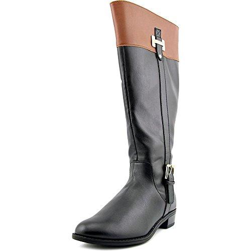 Karen Scott Womens Deliee Wide Calf Boot Black / Cognac Size 8 M US A8IiXSkyJ1