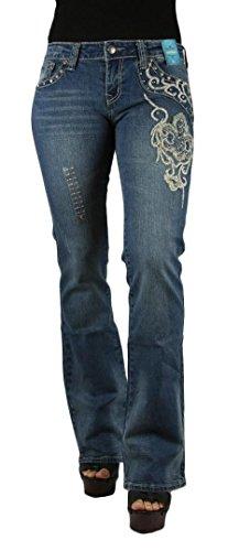 montana-west-trinity-ranch-womens-fleur-de-lis-design-bootcut-denim-waist-7
