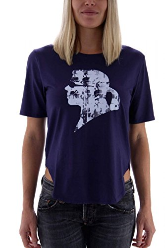 Karl Lagerfeld–Camiseta de mujer Dunkelviolet