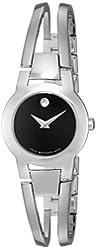 Movado Women's 604759 Amorosa Stainless Steel Bangle Watch