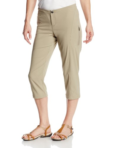 Columbia Women's Just Right II Capri Pant, Tusk, 10x20
