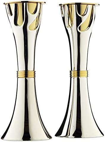 Rite Lite Tree of Life Luxury Candlestick Set Beautiful Shabbat Candle holder 8″